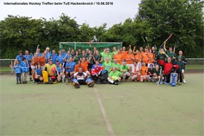 Internationales Hockey Treffen beim TuS Hackenbroich